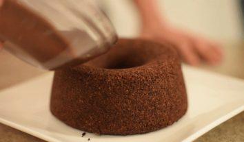 Aprenda a fazer bolo de chocolatefuncional e sem glúten