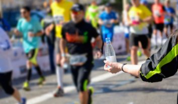 Evite a desidratação durante corridas longas