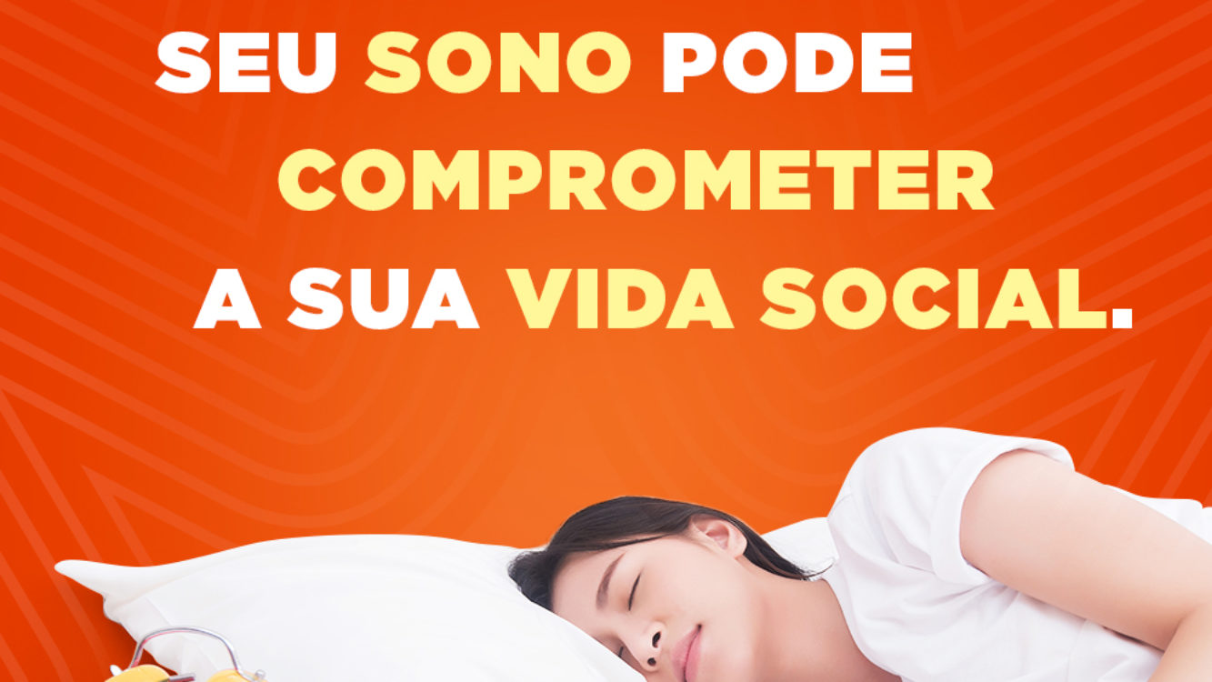 Seu sono pode comprometer a sua vida social