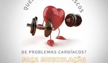 Quer reduzir os riscos de problemas cardíacos? Faça musculação